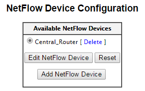 A list of NetFlow probes.