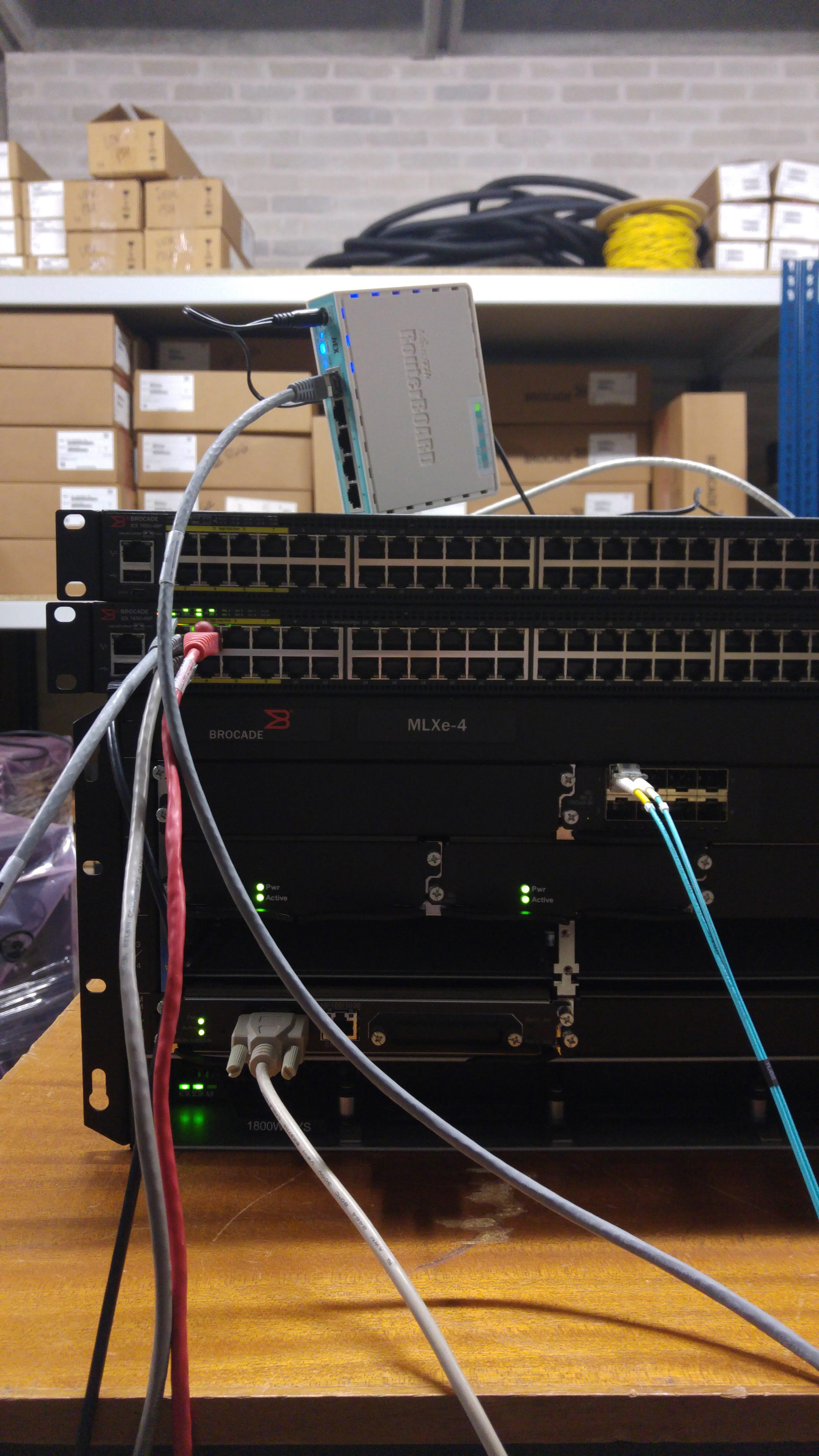 L3 MPLS VPN on Brocade Ironware - D/Line Radio